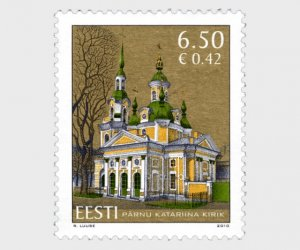 2010 Estonia St Catherine's of Parnu  (Scott 639) MNH