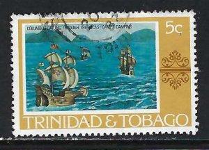 TRINIDAD & TOBAGO 262 VFU COLUMBUS H1246-6