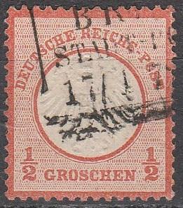 Germany #3 F-VF Used CV $45.00