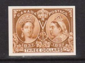 Canada #63P XF Mint Superb Proof On Card