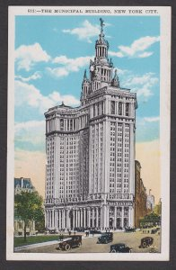 Unused Postcard: New York City – Municipal Building by Moses King