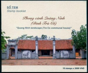 HERRICKSTAMP NEW ISSUES VIET NAM Tra Co House Booklet of 10