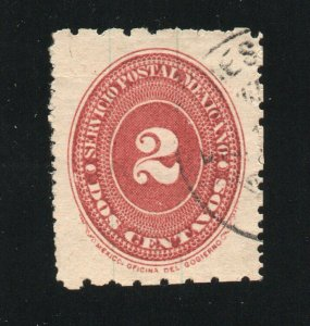 Mexico - Sc# 207 Used / Perf 6 x 12       -        Lot 0721200