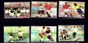Norway 1340-45 MNH 2002 Soccer    (ap1440)