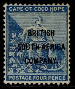 RHODESIA QV SG62, 4d blue, M MINT. Cat £38.