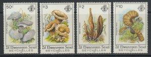 Zil Elwannyen Sesel (Seychelles), Scott 92-95, MNH