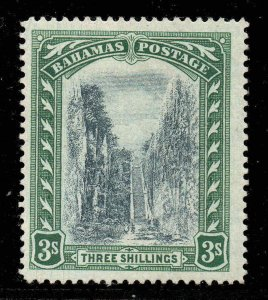Bahamas 1911 KGV 3 Wmk Mcca Défaut  Demi Extra Arbre Coffre  Sg 80 Var Mint