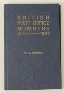 GREAT BRITAIN : PO Numbers 1844-1906. By G Brumell.