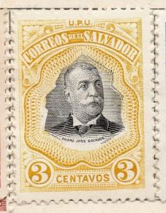 Salvador 1906 Issue Fine Mint Hinged 3c. 141479