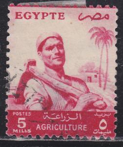 Egypt 372 Farmer 1955
