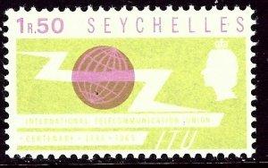 Seychelles 219 MH 1965 issue    (ap6004)