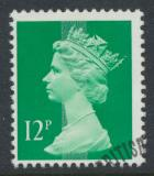 Great Britain SG X896 Sc# MH79    Used with first day cancel - Machin 12p