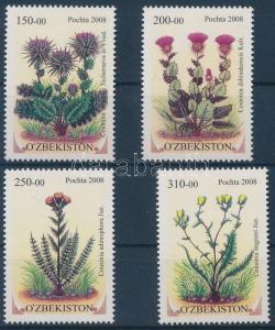 Uzbekistan stamp Rare plants set 2008 MNH Mi 788-791 WS183415