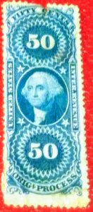 USA R60c 50 cent OrigProcess CV $6.00