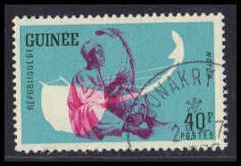 Guinea CTO NH Very Fine ZA6273