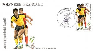 French Polynesia, Worldwide First Day Cover, Sports