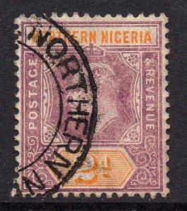 Northern Nigeria 1905 EDVII 2d chalk paper wmk MCCA SG 22a used