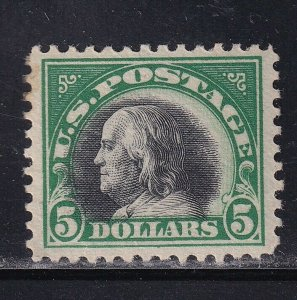 524 VF-XF original gum never hinged with nice color cv $ 350 ! see pic !