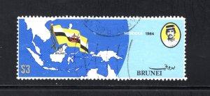 Brunei, Scott 310   VF,  Used, CV $7.75 .....0980096