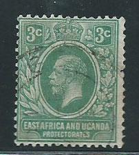 East Africa & Uganda SG 66 Used