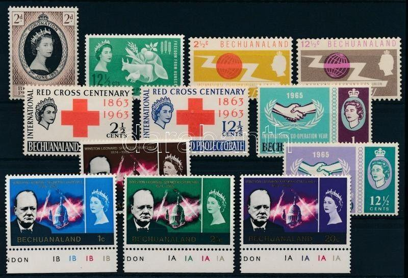 Bechuanaland stamp 1953-1966 6 issues 1953 MNH WS234215