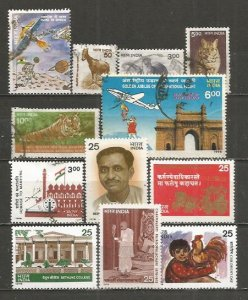 India various stamps #3