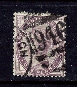 Great Britain 89 Used 1881 issue