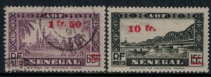 French West Africa #1 used, #11* NH  CV $4.90