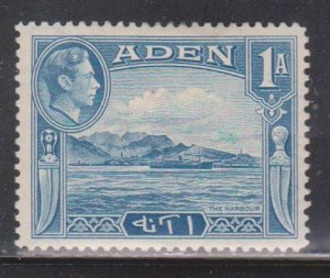 ADEN Scott # 18 MH - KGVI With View Of Harbour