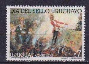Uruguay 1999 Day of the Stamp  (MNH)  - Stamp day