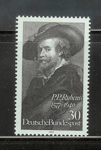 Germany 1250 Set MNH Rubens, Self Portrait (D)