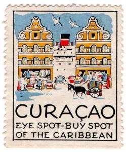(I.B) Netherlands Antilles (Curacao) Cinderella : Eye Spot - Buy Spot