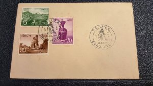 TURKEY FDC, COVER COLLECTION LOT  #9