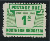 Northern Rhodesia  SG D10 SC# J10 MNH Postage Due 1963 - see details