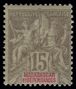Malagasy/Madagascar (Scott #36) F-VF Mint...Get it before prices go up again!