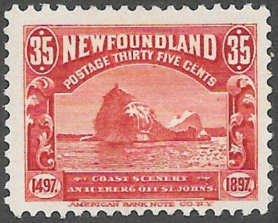 Newfoundland Scott Number 73 F HR