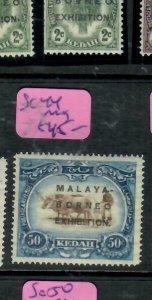 MALAYA KEDAH   (PP2204B)  MBE 50C SG 44      MOG