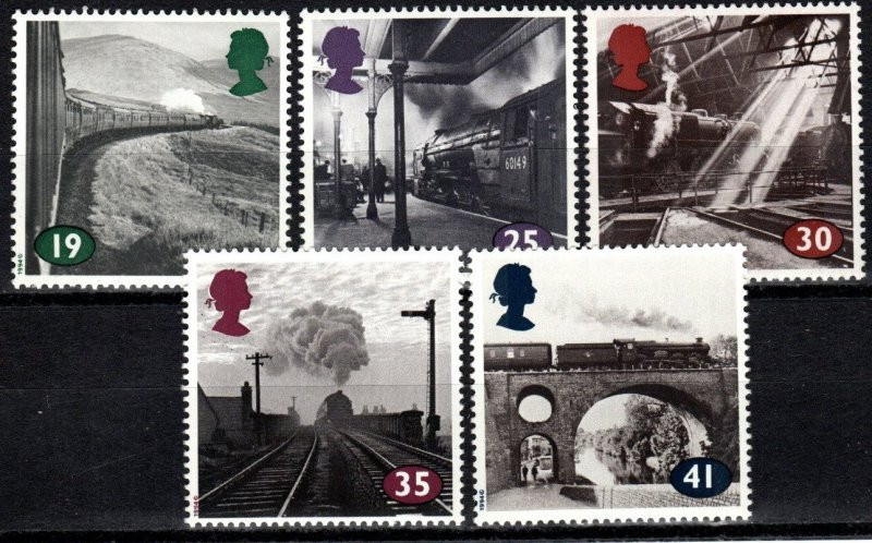 Great Britain #1533-7  MNH CV $3.55 (X829)