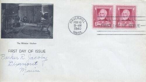 865 JOHN G. WHITTIER - 1st Trustees of Whittier Birthplace #55
