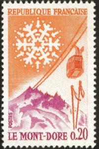 France Scott 1002 MNH** 1961 Mont-Dore stamp