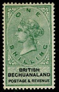 BECHUANALAND SG15, 1s green & black, M MINT. Cat £30.