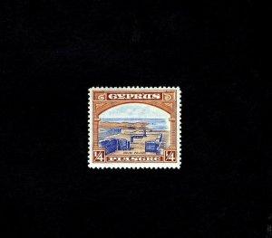 CYPRUS - 1934 - KG V - RUINS OF VOUNI PALACE - # 125 - MINT - MNH SINGLE!