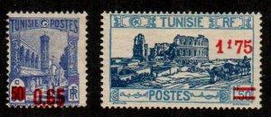 Tunisia #143-144  Mint  Scott $6.20