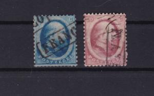 netherlands 1864 stamps ref r15067