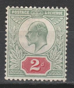 GREAT BRITAIN 1902 KEVII 2D