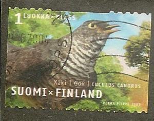 Finland      Scott  1184a    Bird   Used