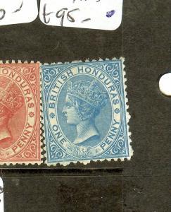 BRITISH HONDURAS (P2605B) QV   1D   SG5   MOG