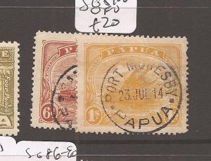 Papua SG 89-90 VFU (8dbx)