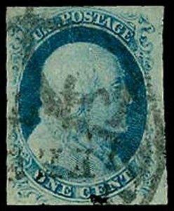 U.S. 1851-57 ISSUE 9  Used (ID # 33325)