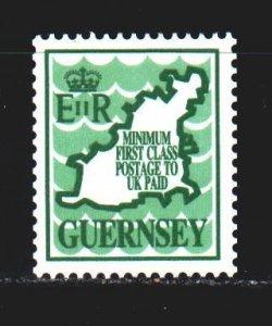Guernsey. 1989. 452. Guernsey map. MNH.